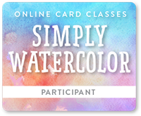 Online Card Classes Simply Watercolor