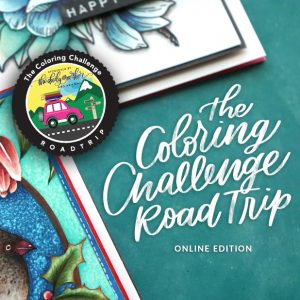 Coloring Challenge Road Trip