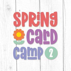 Spring Card Camp 2